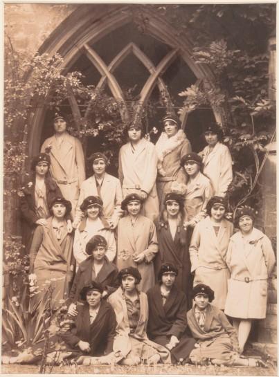 Vrouwelijke studenten in de jaren 20