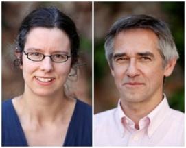 Annemie Dillen en Thomas Knieps