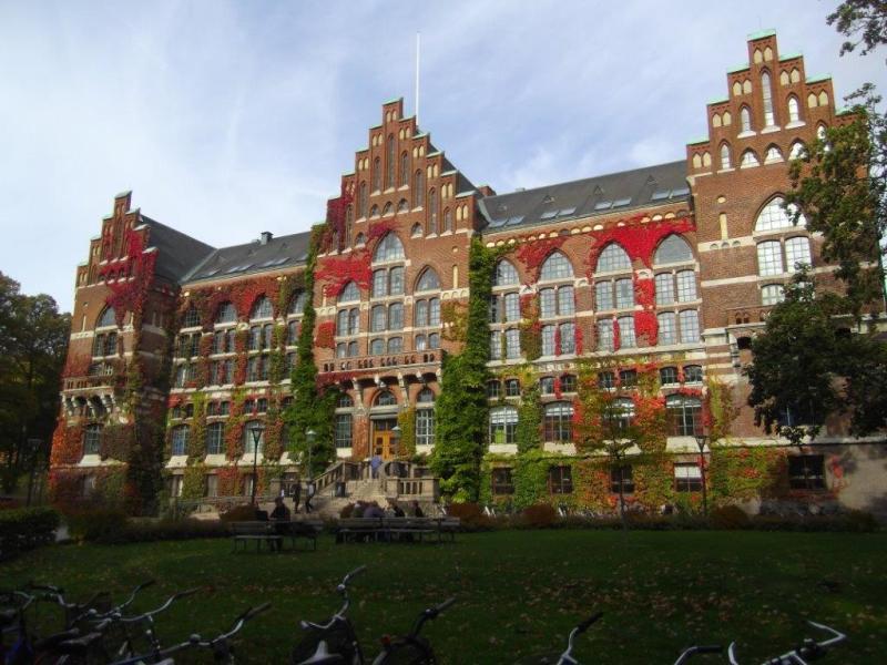 De bibliotheek van Lund © Emilie De Laere