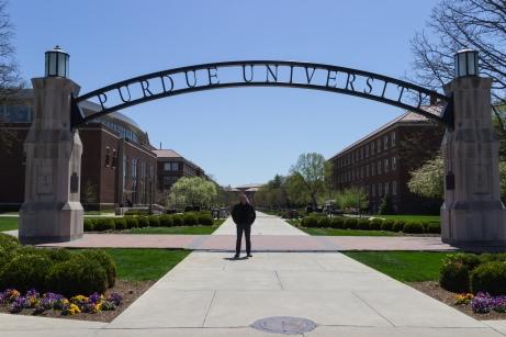 Jan Van den Bulck is momenteel visiting professor aan Purdue University in Indiana.