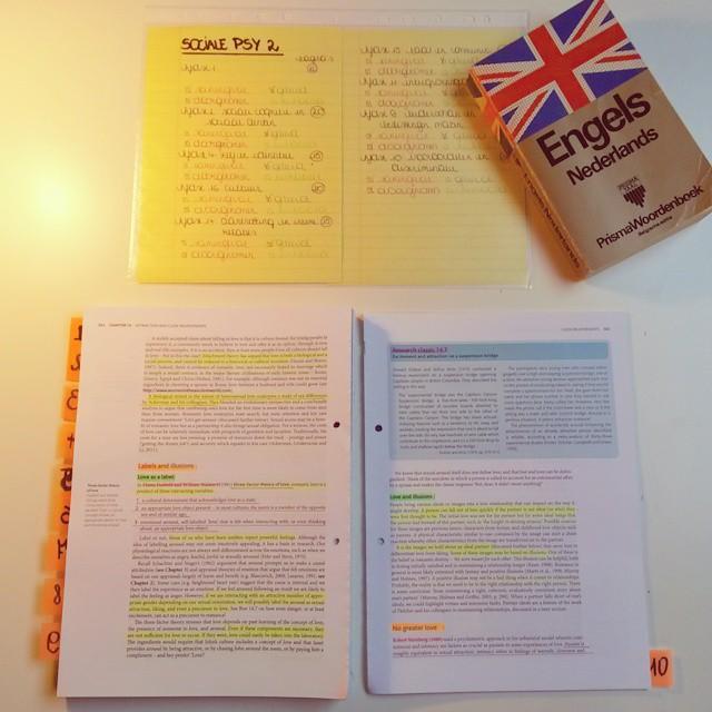 tips voor studeren