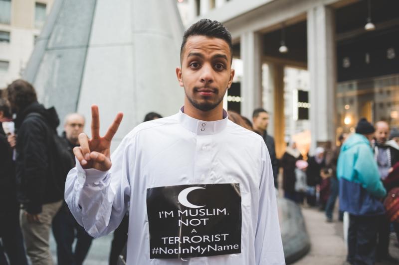 Moslims, islam, terrorisme (Shutterstock)