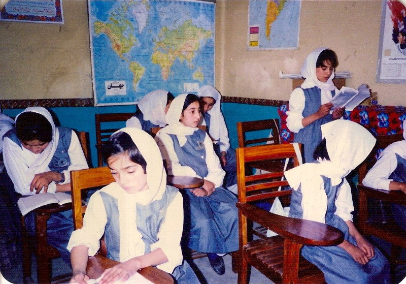 Camp girls primary school 1989